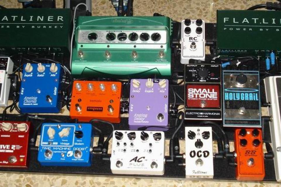 Uso de amplificadores y pedaleras