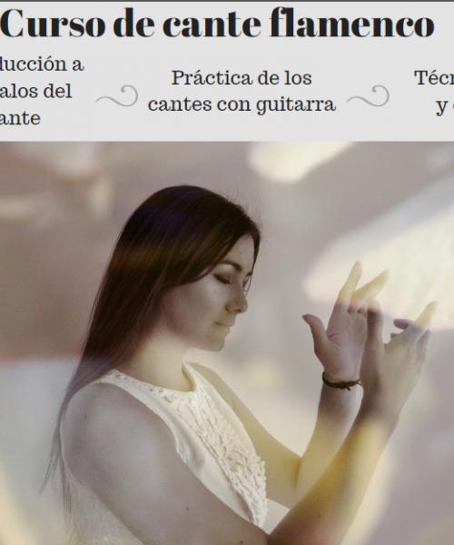 Curso Cante Flamenco (Iniciación)