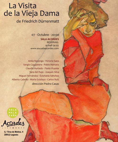 Teatro- La visita de la vieja dama (Friedrich Dürrenmatt)
